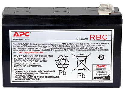 APC Replacement Battery Cartridge #125