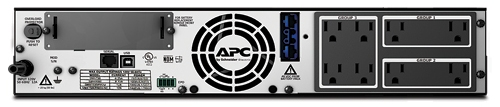 APC Smart-UPS XL 1500VA Rack/Tower LCD 120V Rear