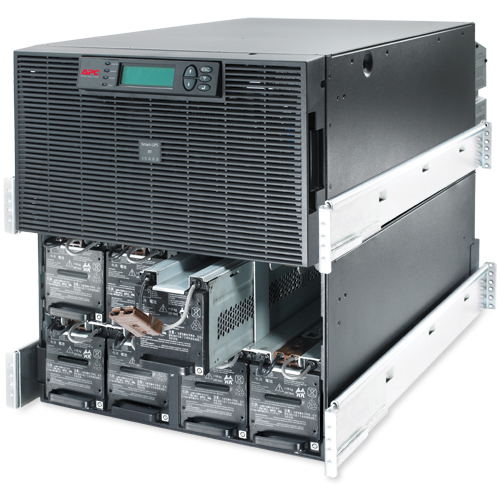 APC Smart-UPS RT 20kVA RM 208V - Open Inside View