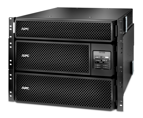 APC Smart-UPS SRT 8000VA RM with 208V to 120V 2U Step-Down Transformer