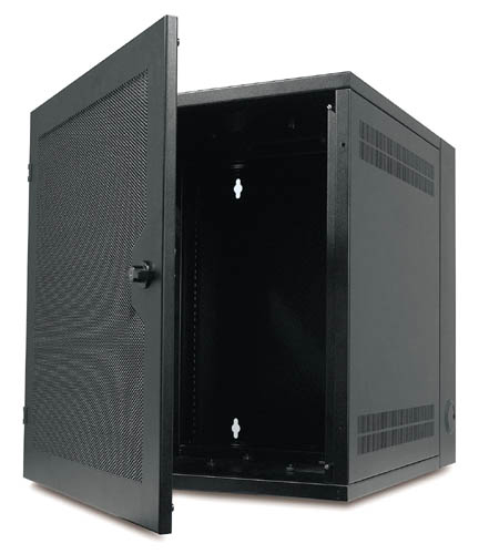 APC NetShelter WX AR100HD Enclosure - Open View