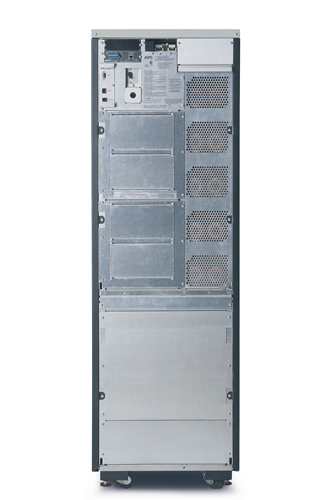 APC Symmetra LX 12kVA Scalable to 16kVA N+1 Ext. Run Tower, 208/240V Input, 208V /240V and 120V Output - Back View